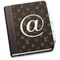 LV Address Book icon for Mac by Somonette