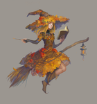 Autumn Witch ADOPT AUCTION [CLOSED] by opi-um