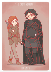 You know nothing by lagoliv