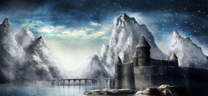 Winter Castle by FruitPunchSamurai13