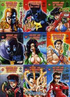 Golden Age of Comics I by eisu