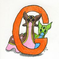 G is for Gastrodon
