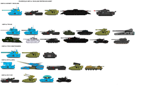 Ancerious heavy vehicles sheet by EmperorMyric