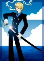 Swordsman Sanji by SybLaTortue
