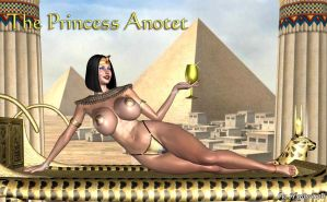 The Princess Anotet by THE-HYPNOMAN