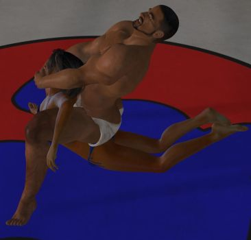 Mixed Wrestling 81 by cattle6