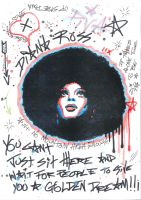 Diana Ross by Evlisking