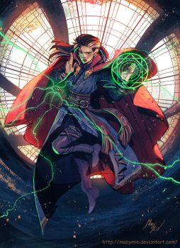 Fem!DoctorStrange by MabyMin