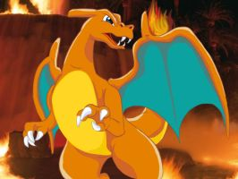 Draelen The Charizard by Articuno