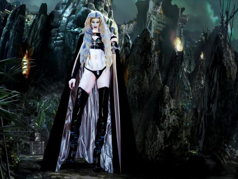 Lady Death....Mistress Of the Underworld by countess1897