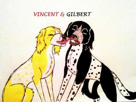 Vincent and Gilbert by yugiohfreakXD