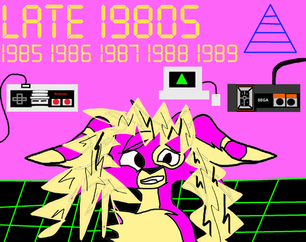 Late 1980s by Laseralphacanine