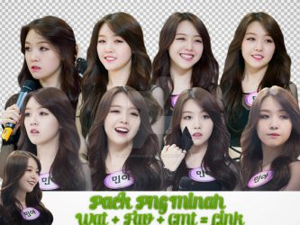 Pack PNG #19: Minah ( Girl's Day) by jimikwon2518