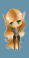 Blood elf Chibi-style by DinaConcept
