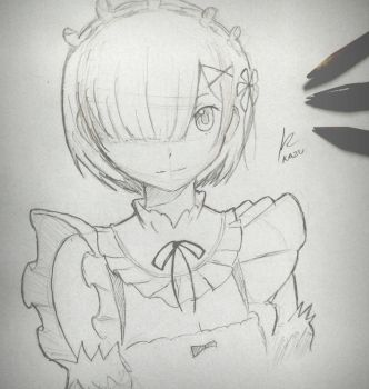 Traditional Art Practice - Rem by Kyokazu
