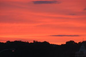 Sunset Over Minersville,pa 2 of 3 by Hero-Ritsuka