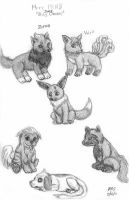 PKMN Canines by Dani-Claw