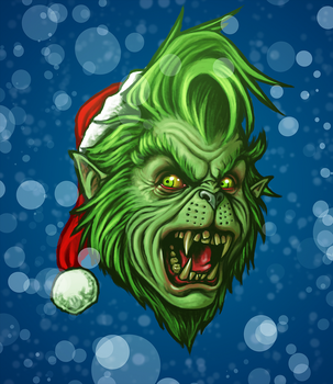 The WereGrinch by SamRAW08