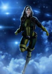Ashley-Greene-as-Rogue by ricktimusprime0825