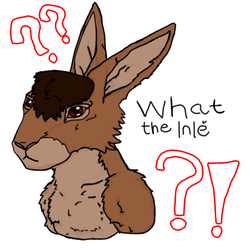 What the Inle sticker by Varjokani