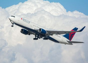 Delta Air Lines Boeing 767-300 N155DL by concaholic
