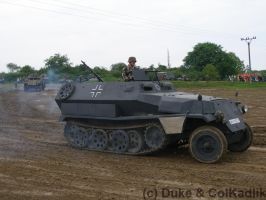 SdKfz251 - Armored Day Lesany by Dukecz