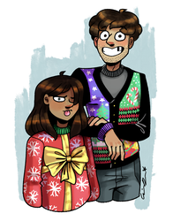 Christmas 2017 by pinearts
