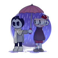 Rain by JamiPurpleFlower