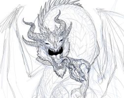 Dragon WIP by alecan
