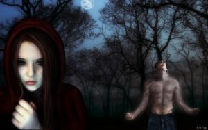 Come, Little Red Riding Hood by 3D-blasphemy