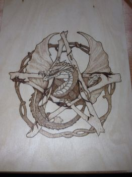 First attempt at pyrography by ErdaErzsebet