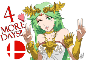 Smash Countdown With Palutena by Cloudvp