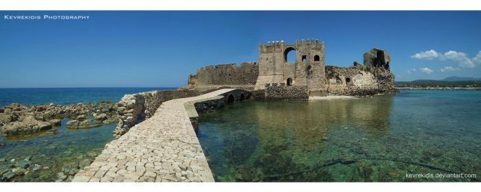 Methoni Castle by Kevrekidis