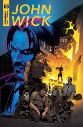 John Wick cover 3 colors by GIO2286