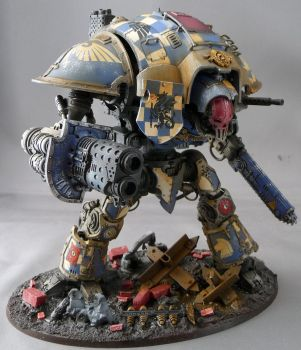Imperial Knight (Blue) 1 by Rogue428