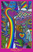 Rainbow Heart by kine80