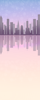 Pastel City Custom Box Background by frostykat13