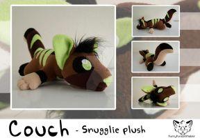 Couch - Snugglie plush by FurryFursuitMaker