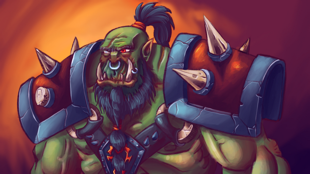 Warcraft Orc Veteran by fdiskart