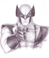 I WANT YOU Wolverine sketch by LucasAckerman