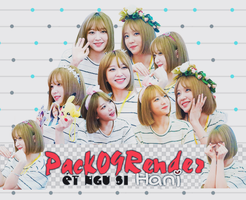 [ 18/07/2016 ] Pack Render Hani by Steal-The-Shows