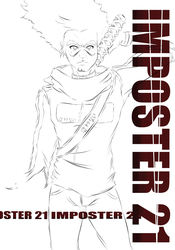 Imposter 21 Volume 2 Cover (WIP) by ChrisMcClary