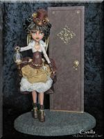 Camilla-*A Door Through Time* Custom Steampunk by KrisKreations