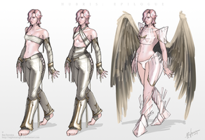 Alesia character concept by NightmareGK13