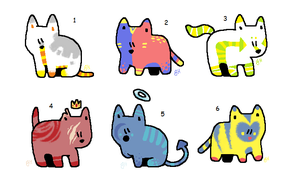 Kitty Adopts // OPEN 2/6 by lonely-dog-song