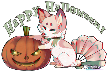 Happy Halloween! by Belliko-art