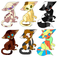 Odd Cat Adopts [MOVED] by ChexAdopt