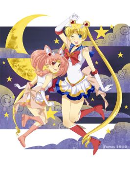 Sailormoon by ferus