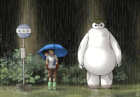 My Neighbor Baymax by Narikoh