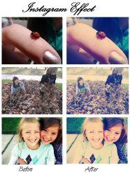 Photoshop Action: Instagram Style Effect FREE by EmilyLPhotography